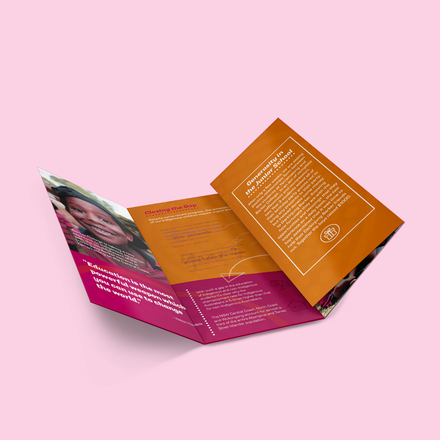 8pp Folded DL brochure