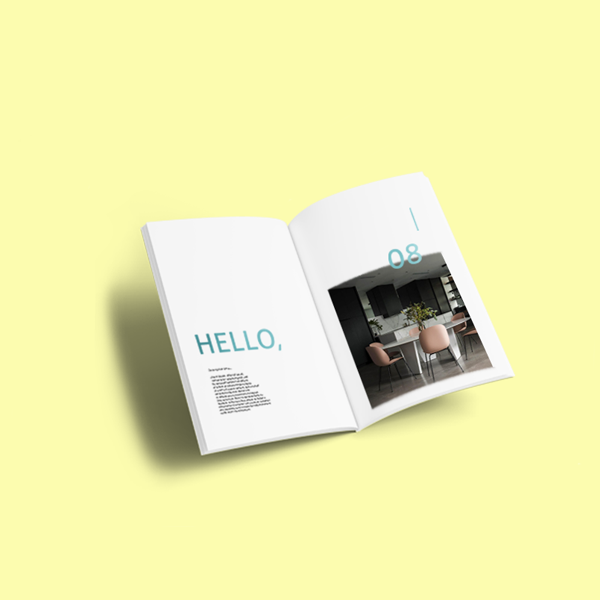 A5 Booklet 115gsm gloss