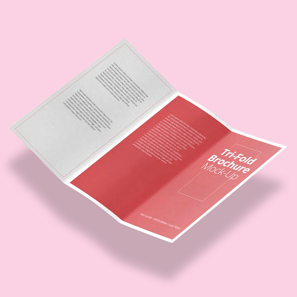 Funeral Home Brochures A4 folded to DL (trifold)