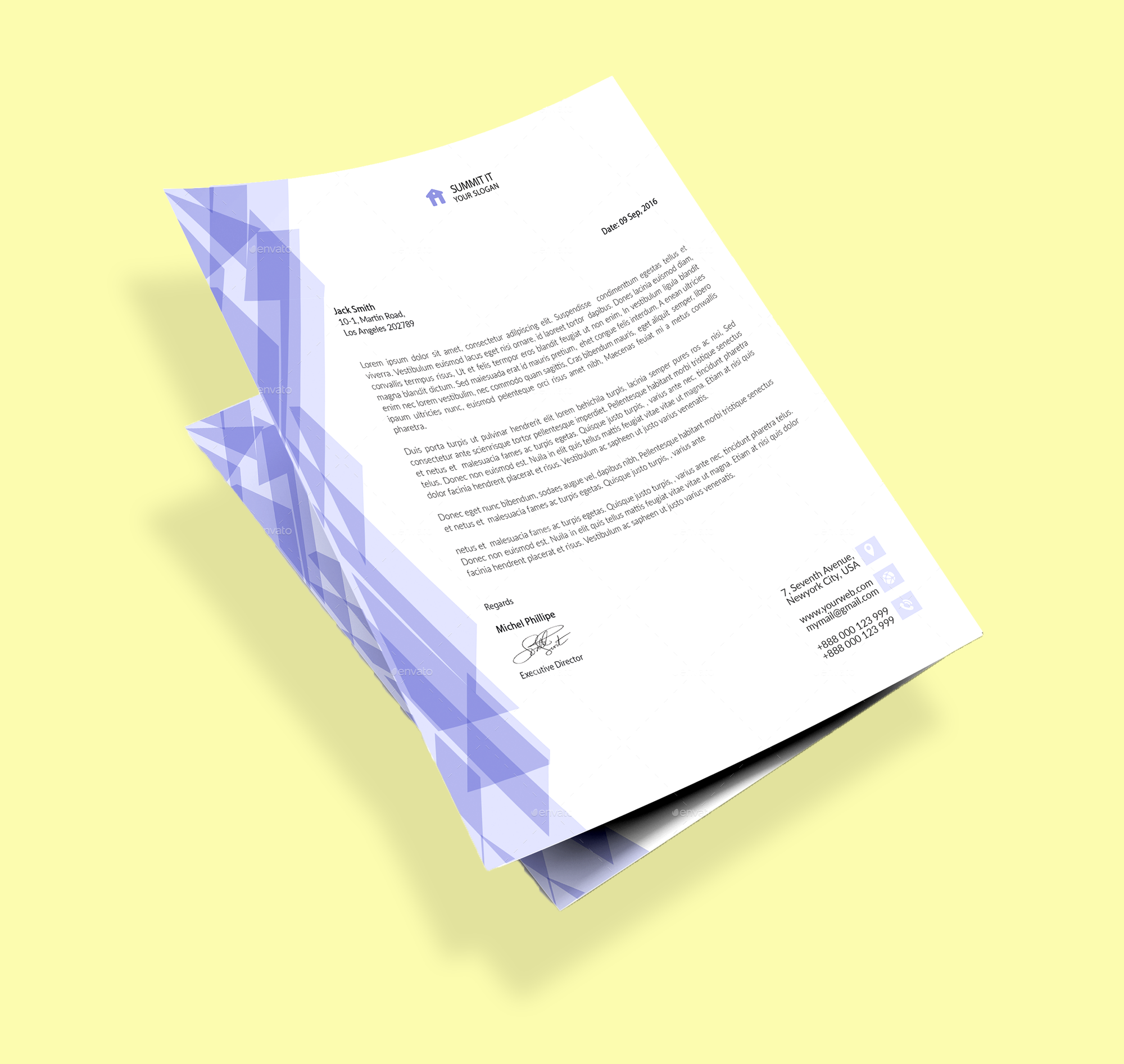 Letterheads A4 Full colour